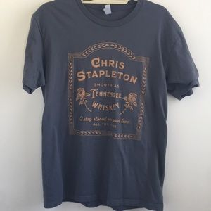 Chris Stapleton Concert Tee Tenn Whisky